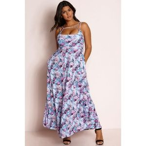 """Rebdolls """"Give it Time"""" Caged Maxi Dress 💕"""